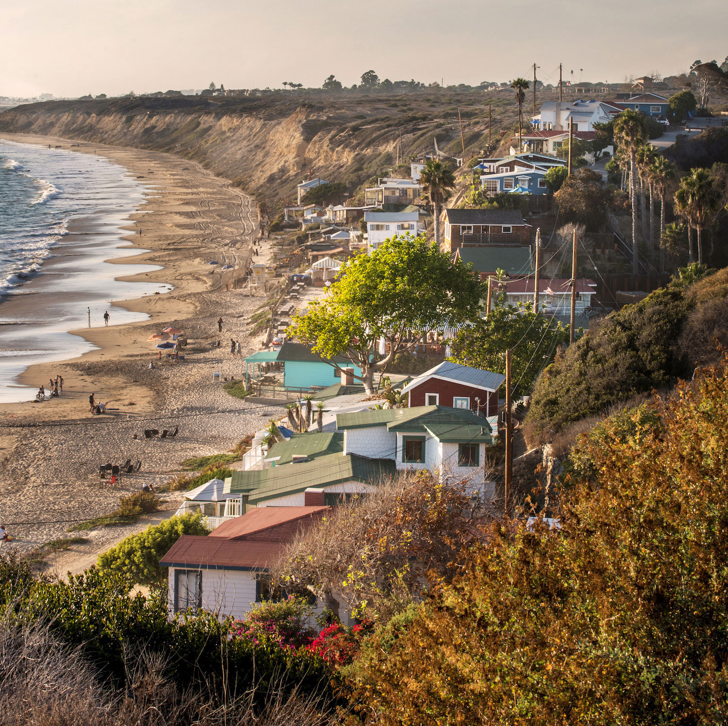 Crystal Cove Cottages coastal view
