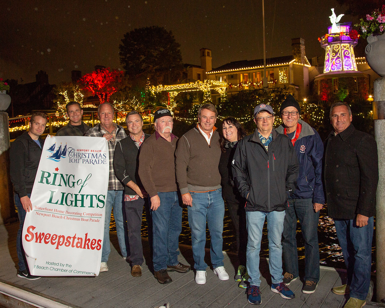 Take Five Ring of Lights judges