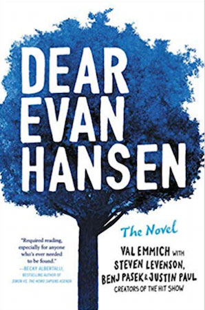 Dear Evan Hansen book cover for Bestsellers