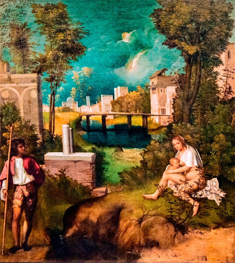 Giorgione painting for NBPL