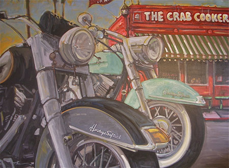 The Crab Cooker art