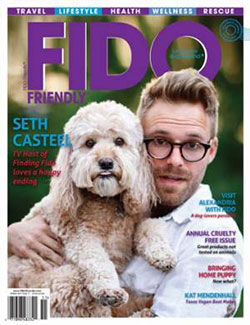 Fido Friendly Magazine cover