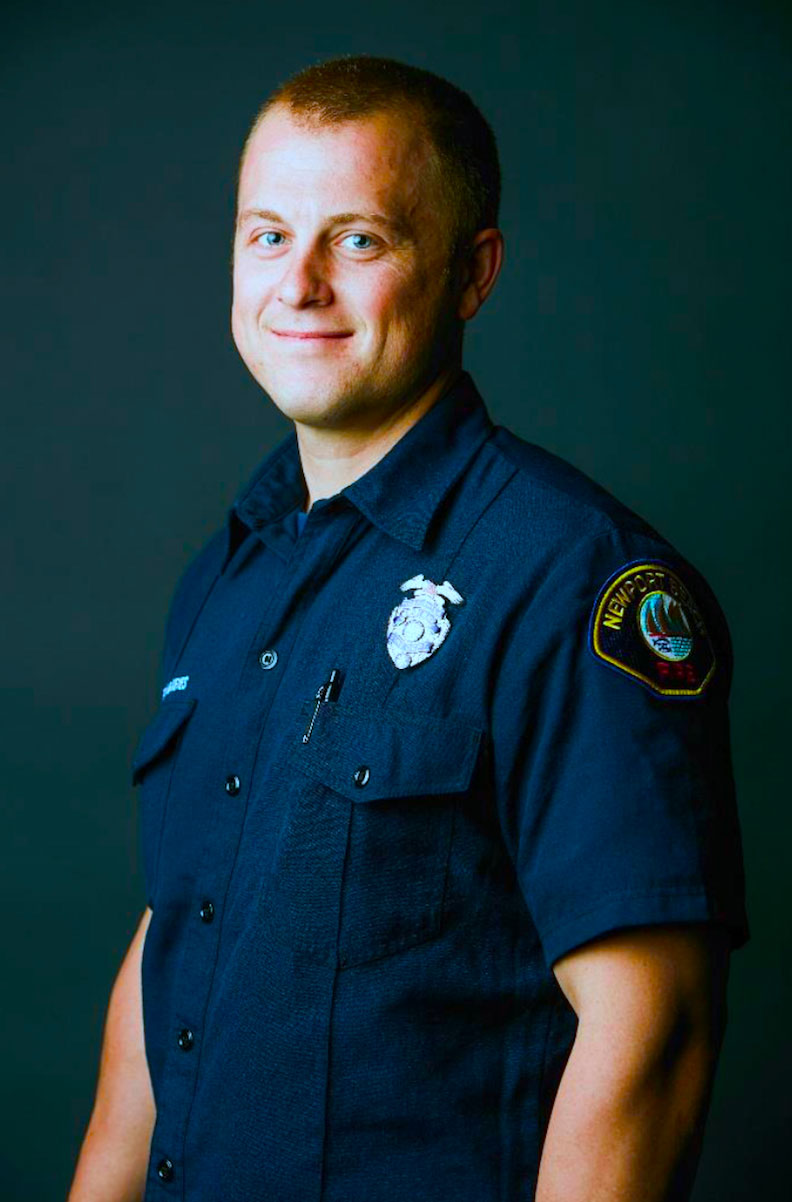 Firefighter Brendan Keyes Firefighter ... 327624788f8