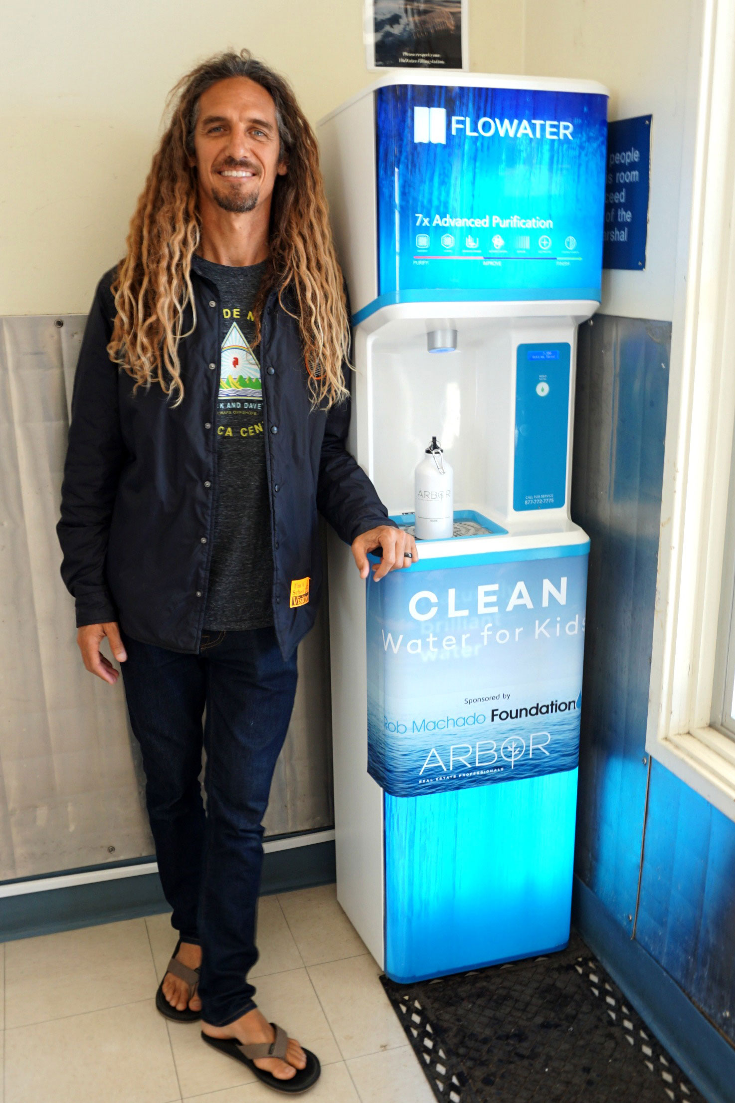 Arbor Real Estate Rob Machado with FloWater
