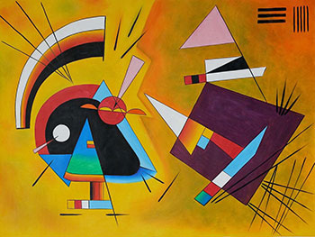 Artwork by Wassily Kandinsky