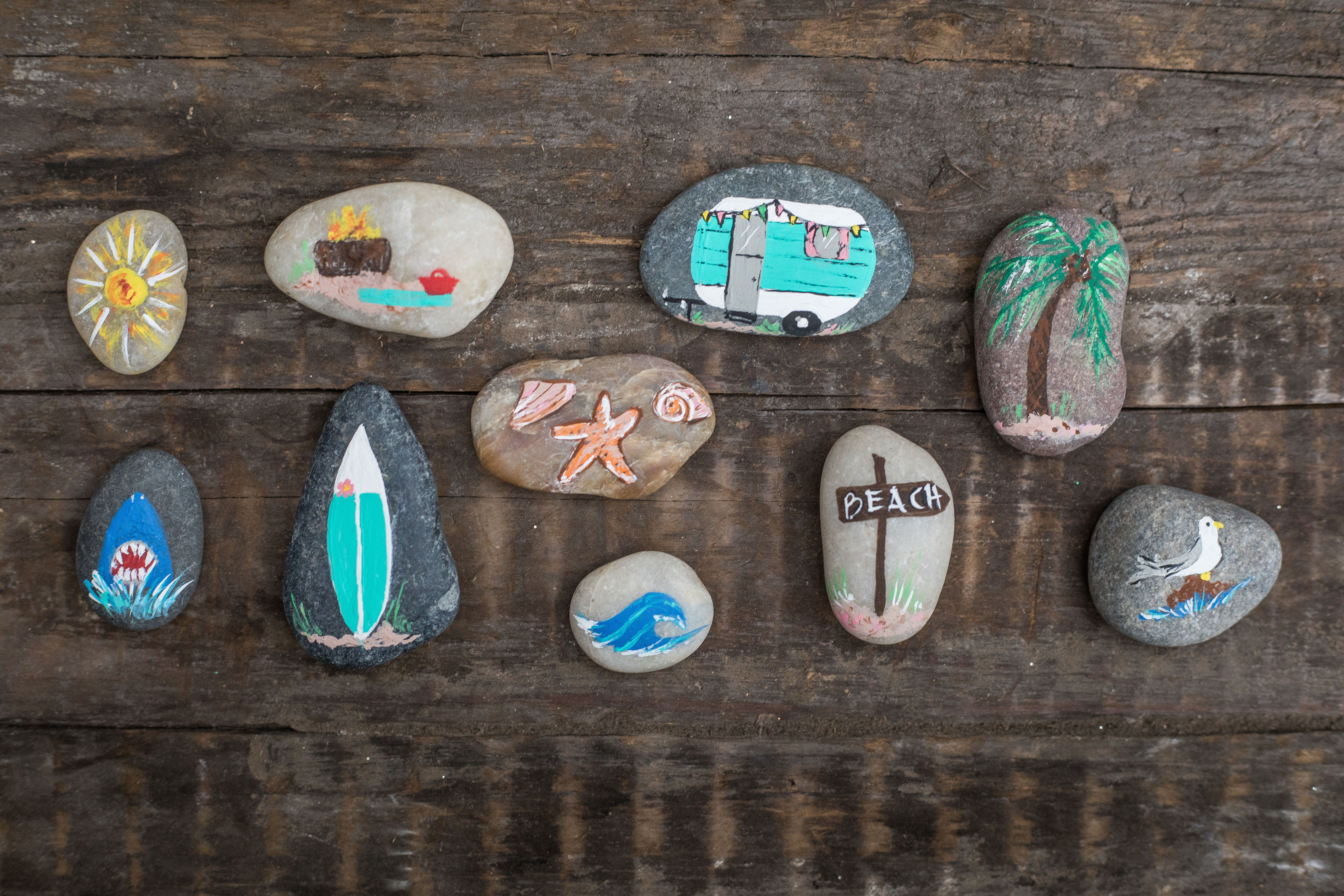 Rock Painting for Best Bets