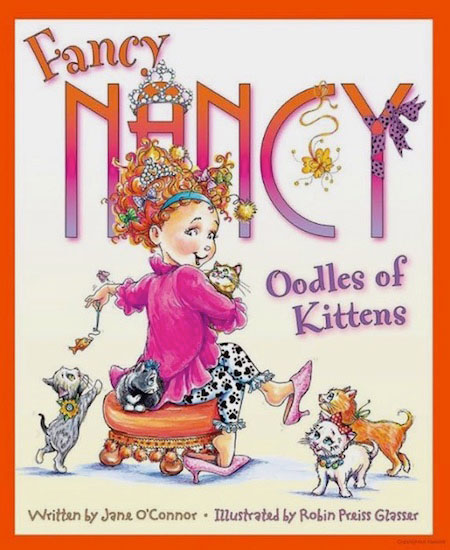 Fancy Nancy book cover