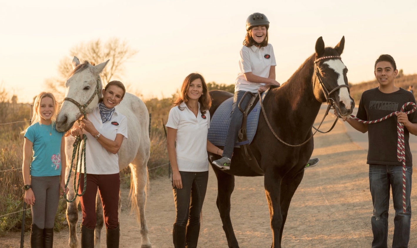 Back Bay Therapeutic Riding Club group