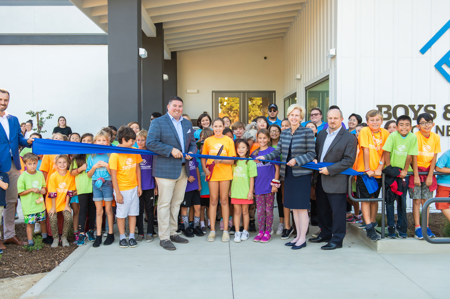 Boys & Girls Club ribbon cutting