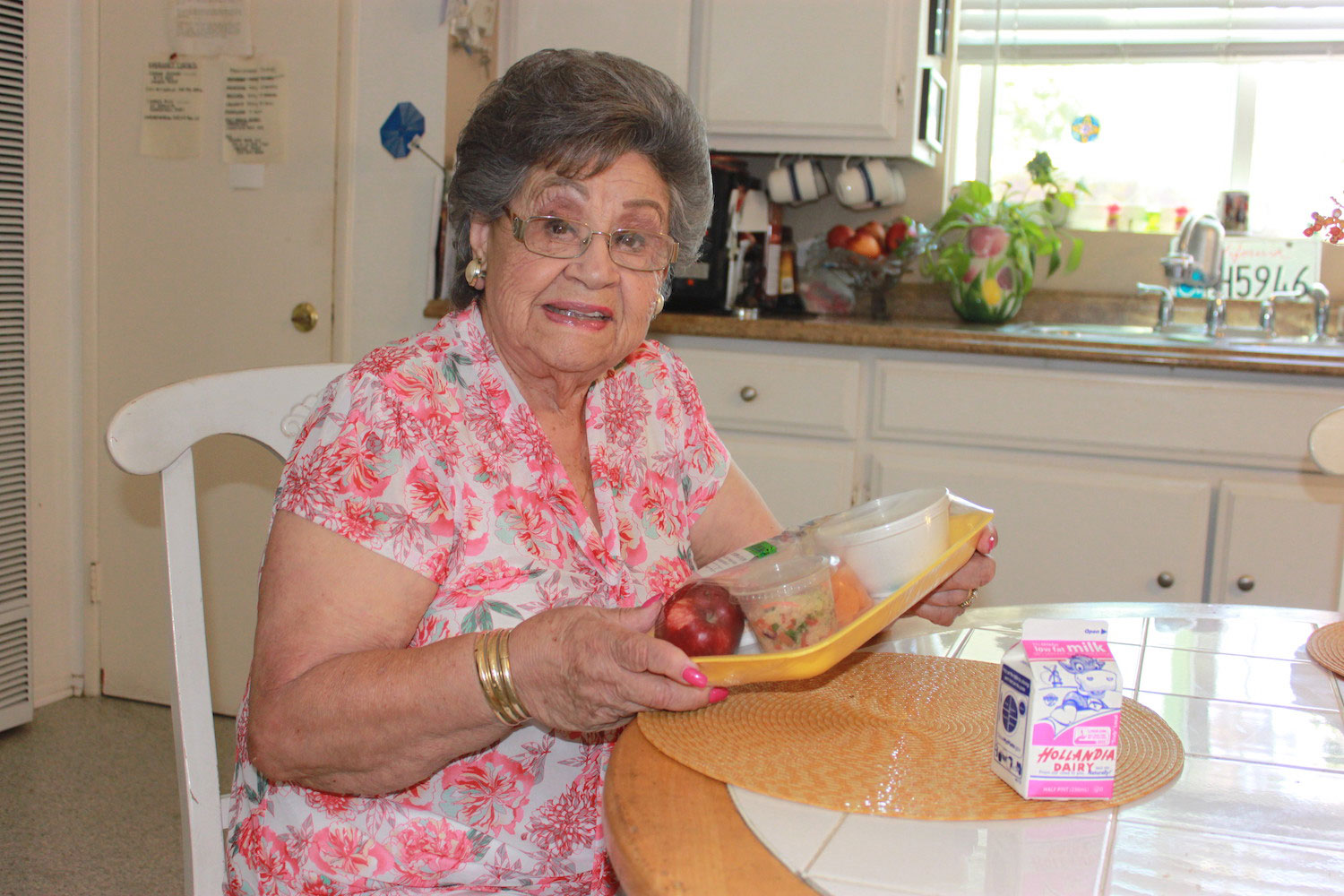 Spotlight Meals on Wheels woman