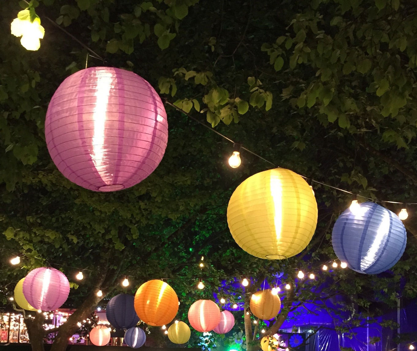 Taste of Twilight lanterns