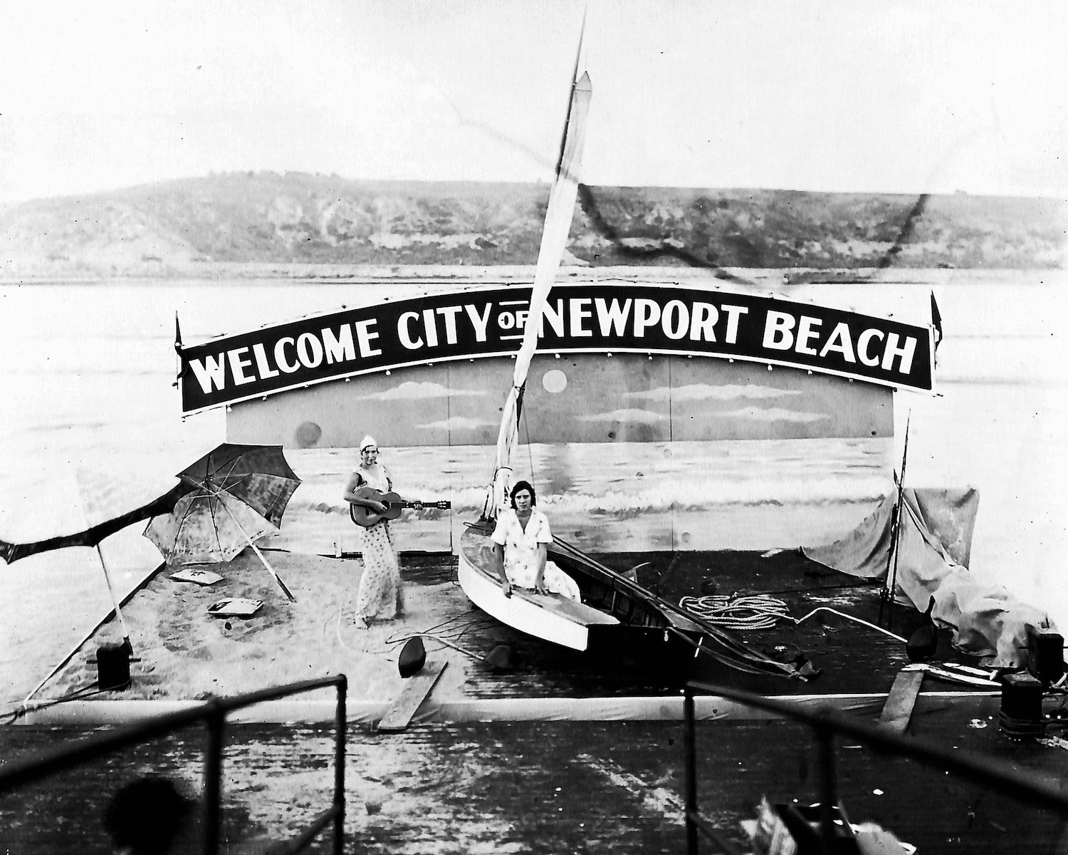 Newport Beach Then and Now nostalgic photo