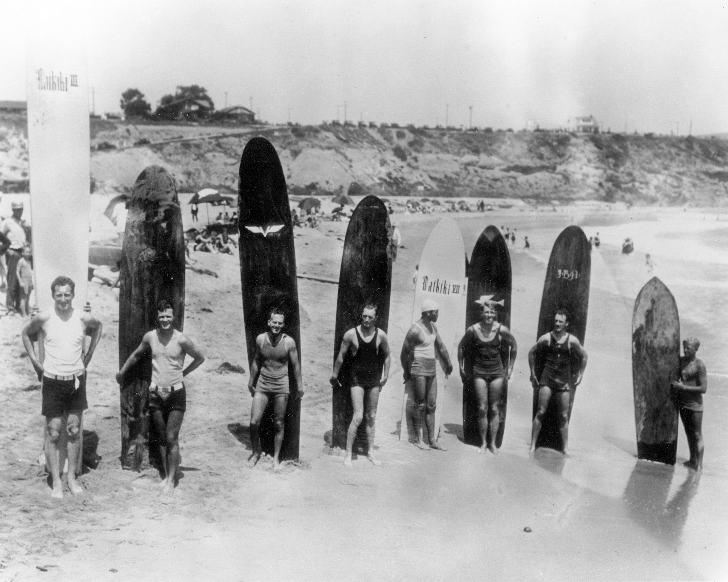Newport Beach Glimpses of the Past Surfers
