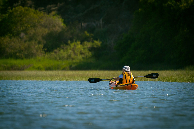 Kayaking Upper Newport Bay